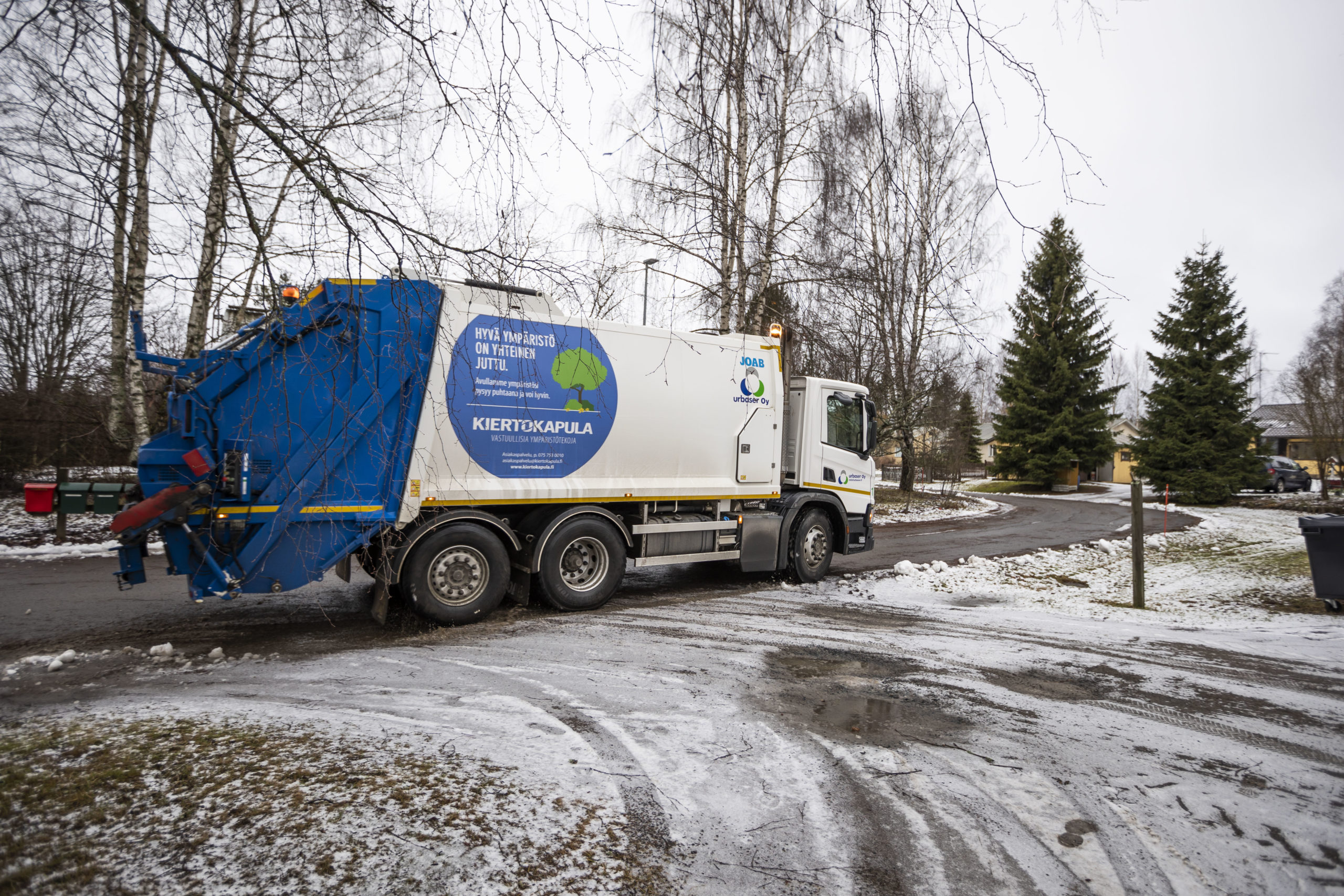 Juhlapyhien vaikutus jätehuoltoon