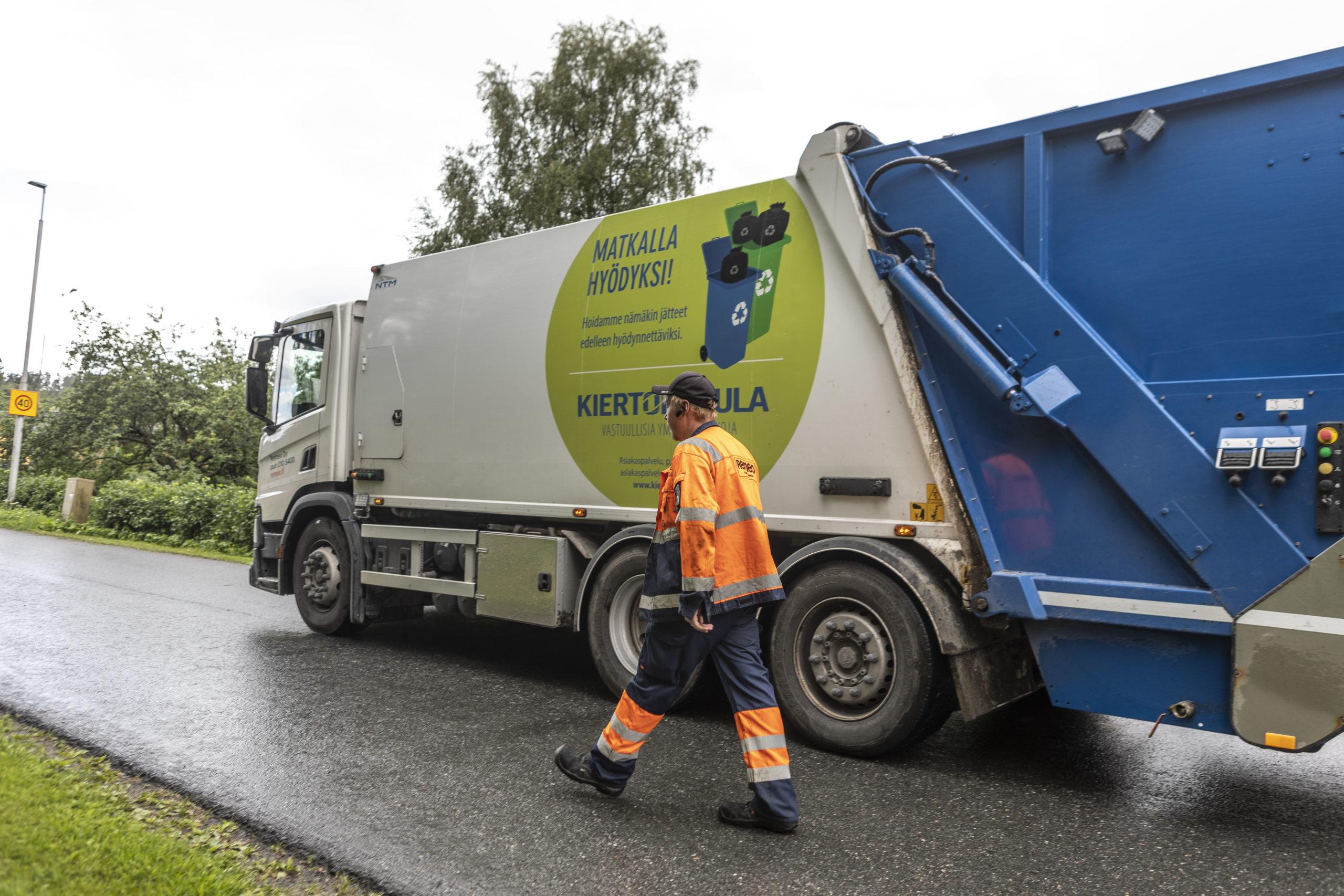 Lopella jäteastiatyhjennykset siirtyvät