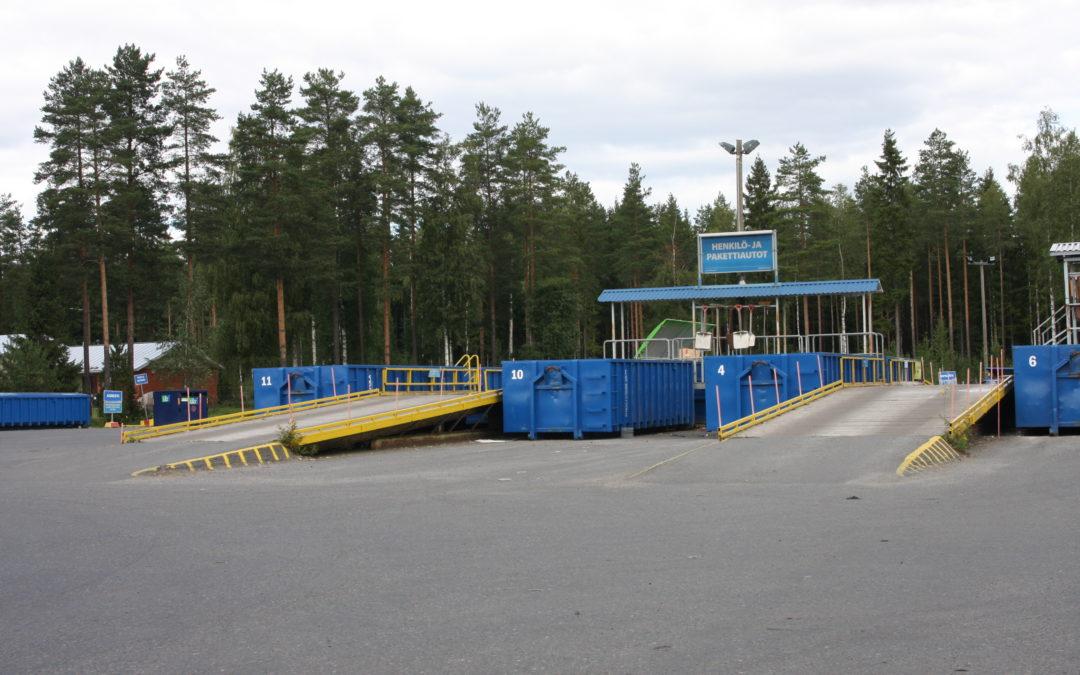 Jätteidenkäsittelyalueet ovat avoinna lokakuussa lauantaisin