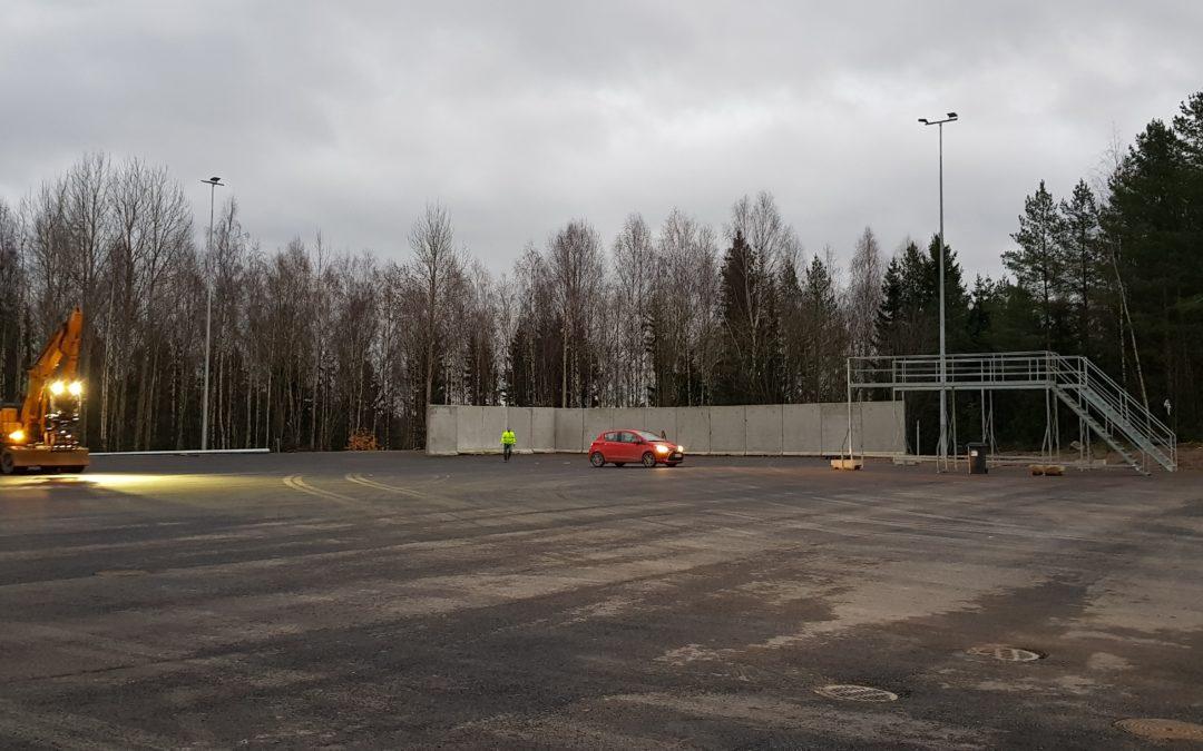 Rakennusjätteen vastaanotto jatkuu jälleen Metsä-Tuomelassa