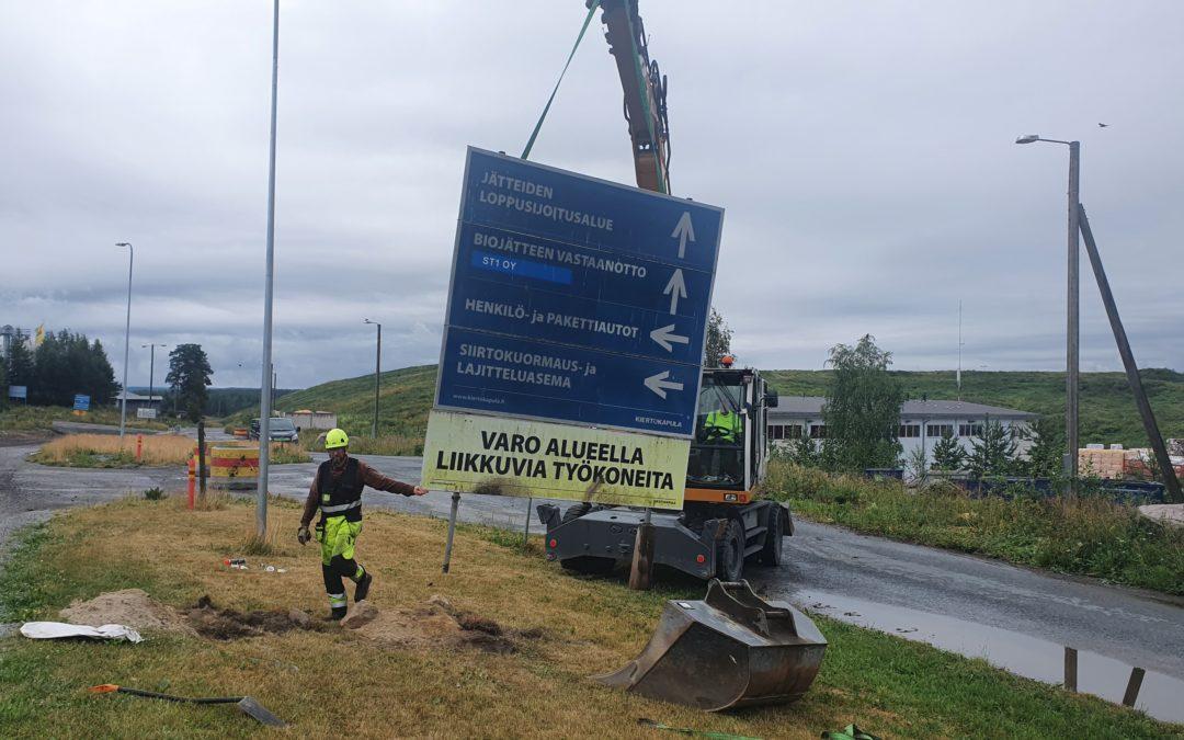Kiertokapula käynnistää laajan investointiohjelmansa – Hämeenlinnan Karanojan toimintojen kehittäminen alkaa
