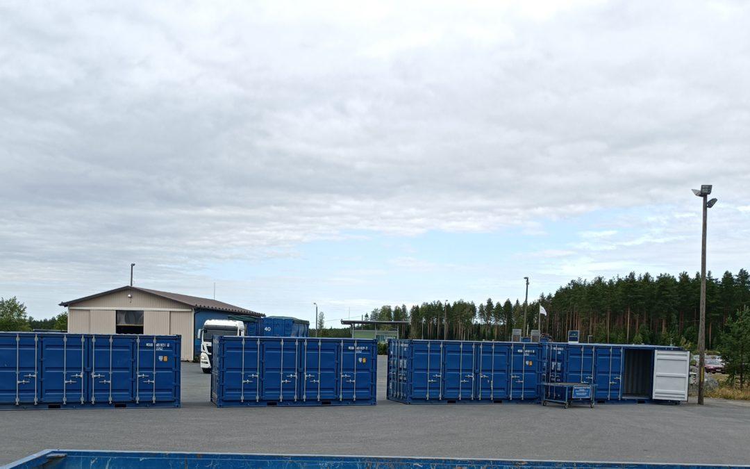 vaarallisten jätteiden vastaanotto konteissa