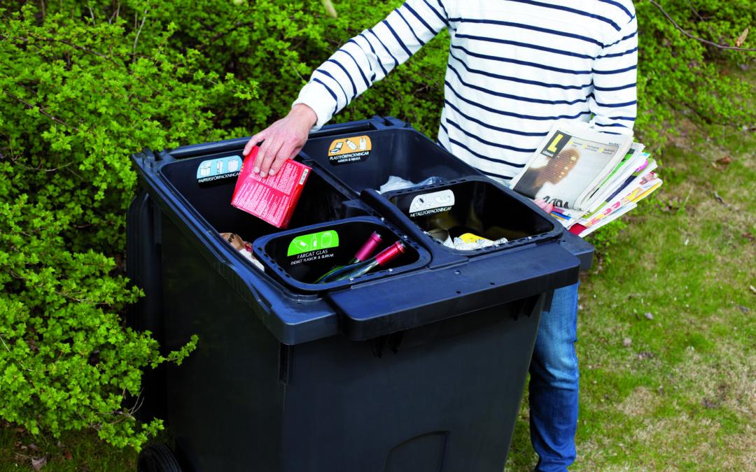 Monilokeroisen jäteastian käyttökokeilusta hyviä tuloksia